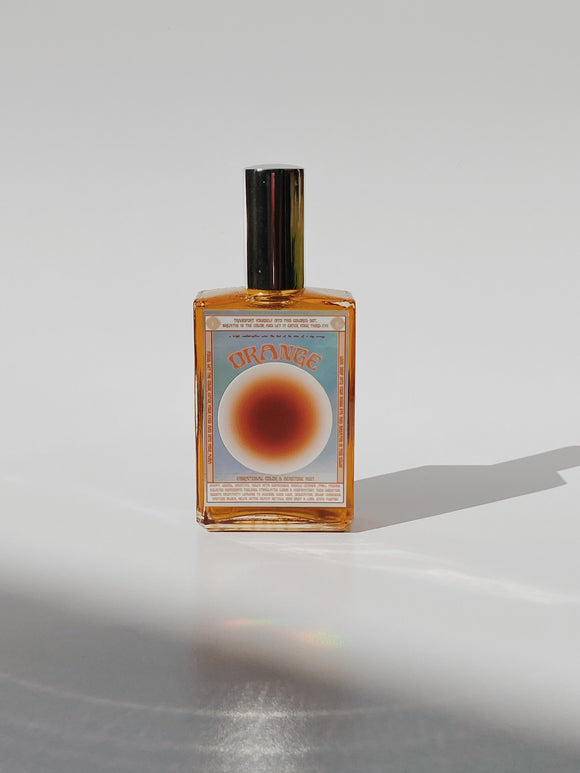ORANGE Vibrational Color + Gemstone Mist