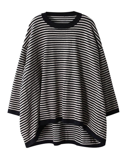 Original Striped Round-Neck Sweater
