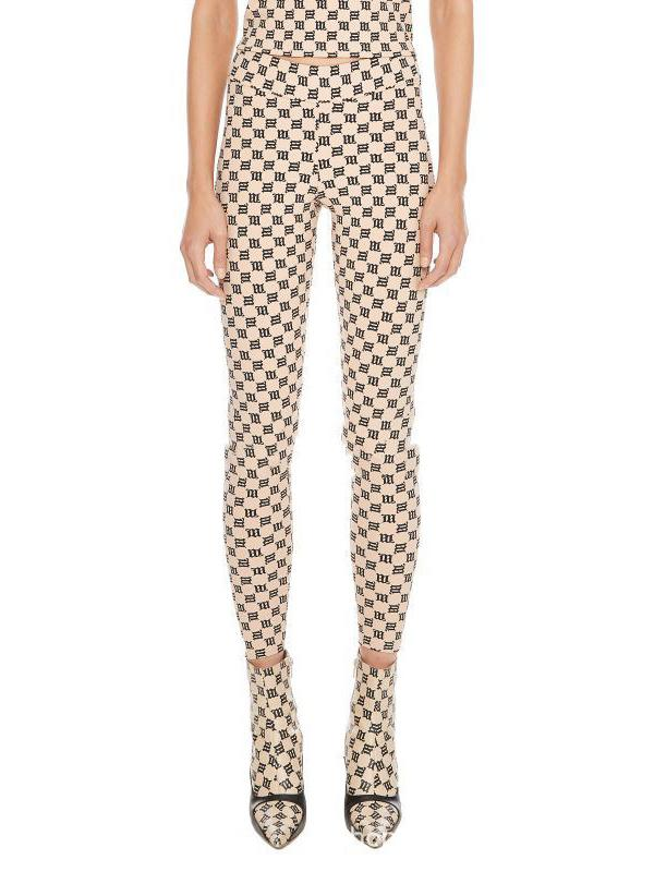 Sexy Printed High-Waisted Sports Leggings