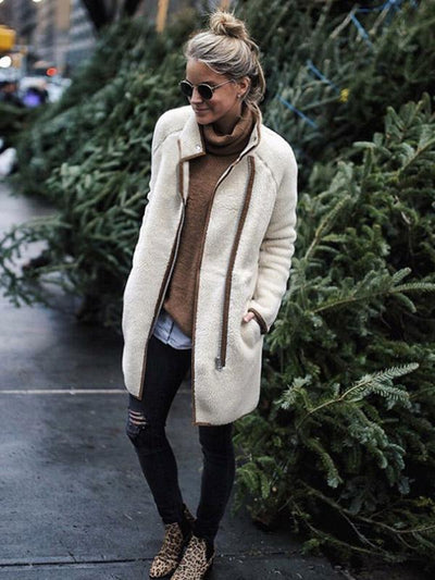 Simple Winter Coat Outwear