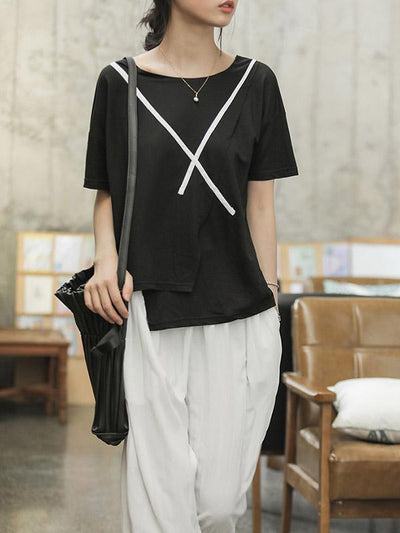 Original Loose Asymmetric T-Shirt