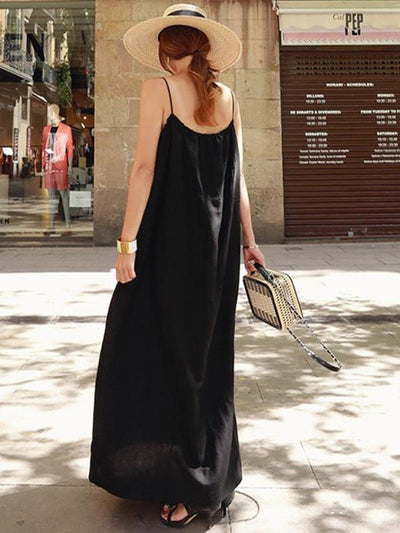 Loose Comfortable Long Slip Dress