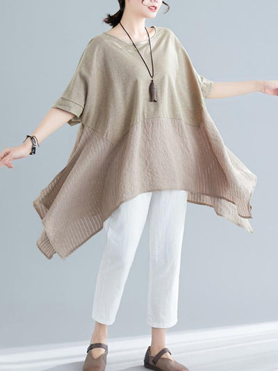 Super Loose Irregular Tops