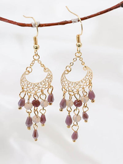 National Style Hollow Earrings
