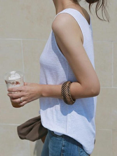 Casual Simple Cotton Camisole