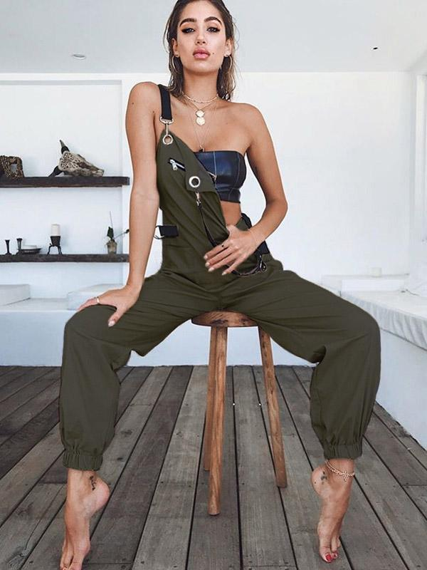 Casual High Waist jumpsuits