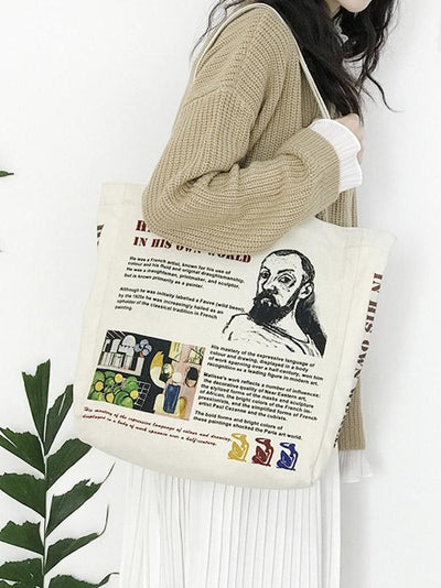 Matisse Portrait Canvas Big Bag