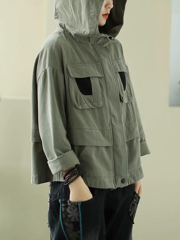 Original Solid With Pocket Outwear