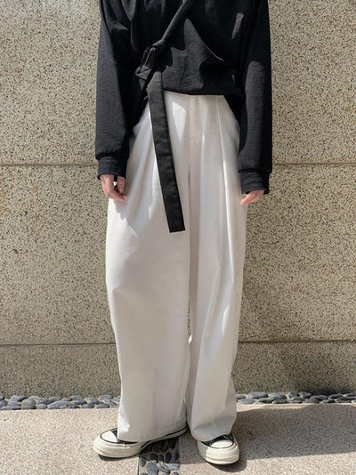 Retro Loose Wide-leg Comfortable Pants
