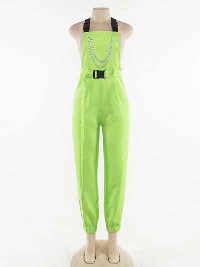 Street Style Casual Jumpsuits