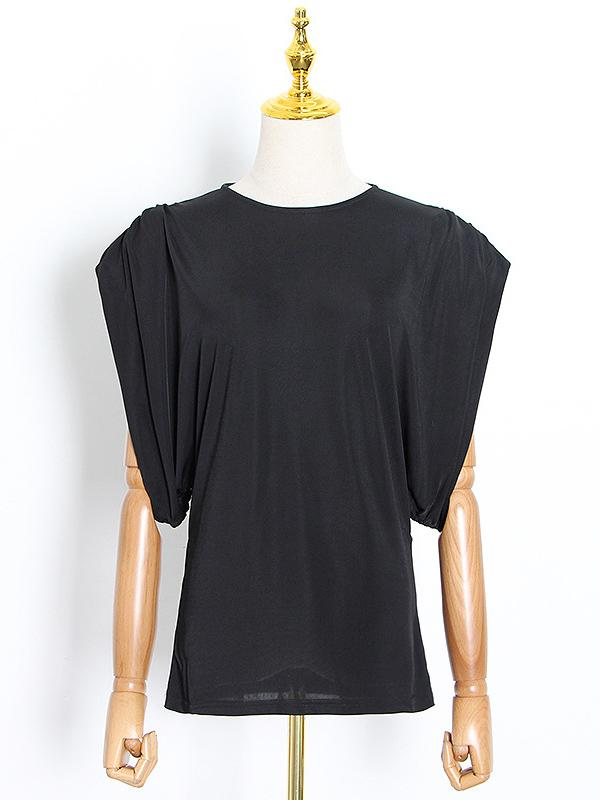 Original Solid Sleeveless T-Shirts Tops