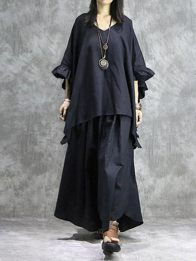 Oversize Batwing Sleeves Shirt