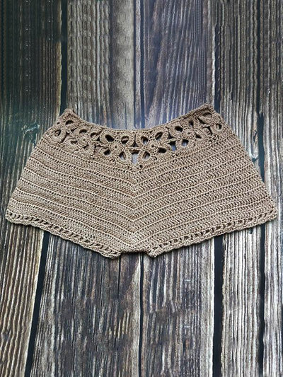 Beach Crochet Solid Short Bottom
