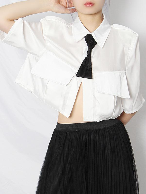 Original Lapel Shirt Blouse Tops