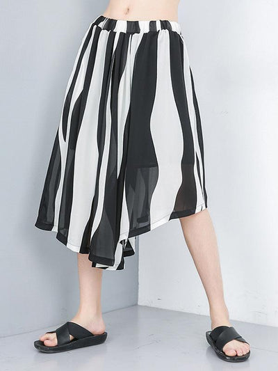 Fashion Irregular Loose Skirts