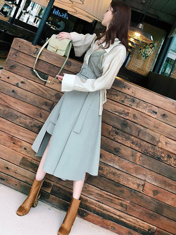 Elegant Cropped Fashion Suit