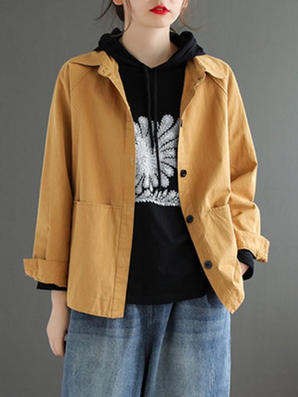 Original Solid Split-Joint Outwear