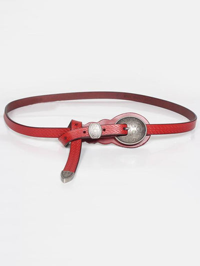 National Solid Thin Belt Accessories