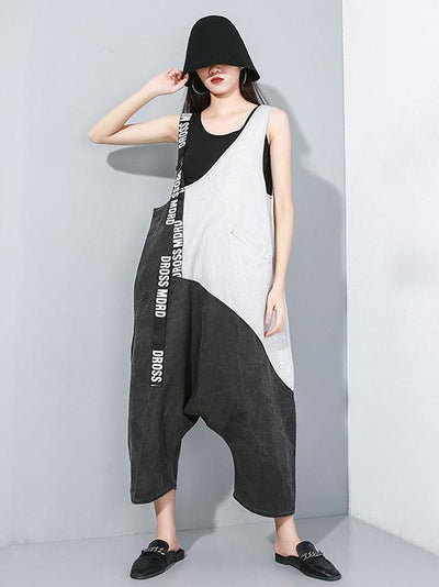 Casual Split-joint Jumpsuit