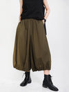 Original Solid Column Wide Leg Pants