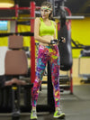 High Quality Floral Printed Sports Leggings