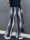 Original Tie-Dyed Column Wide Leg Pants