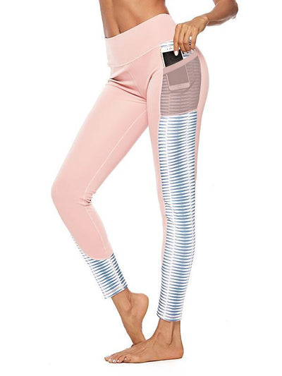 Printed Patchwork Sports&Gym Leggings