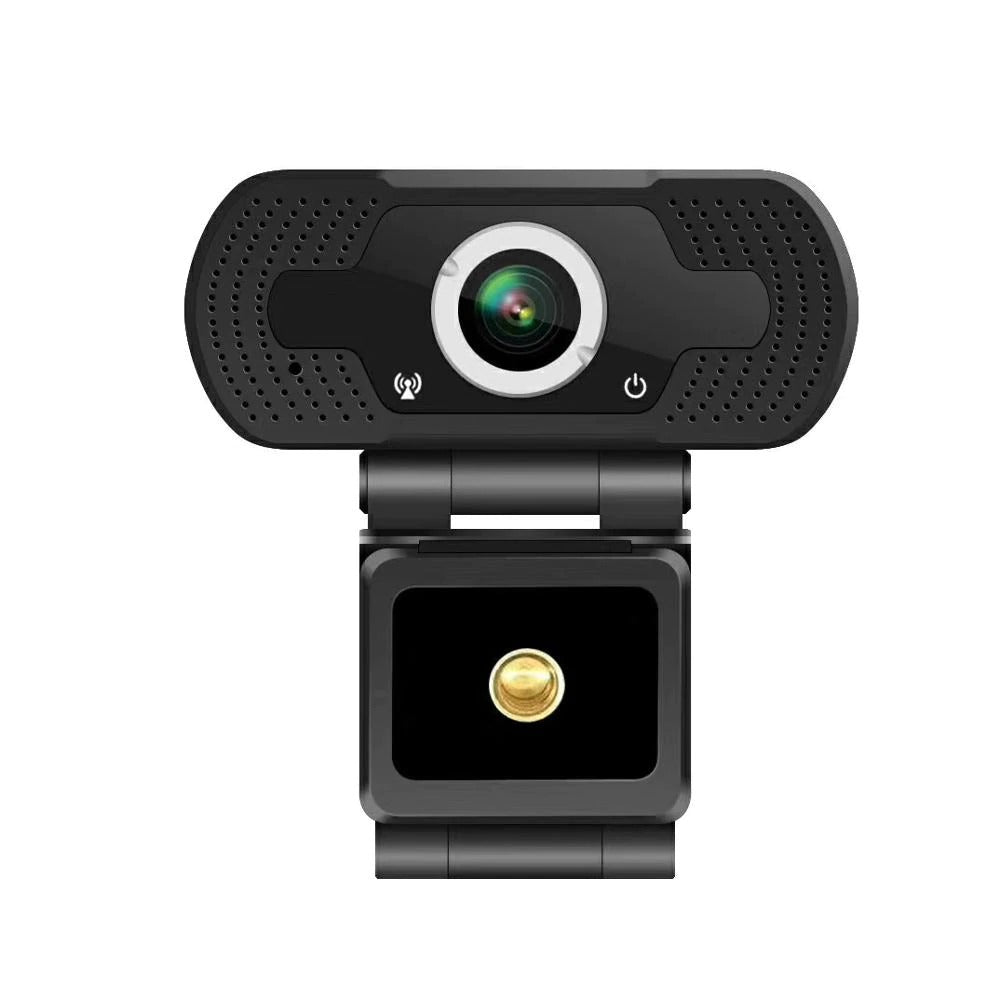 1080P Webcam Full HD Cámara Web Con Micrófono