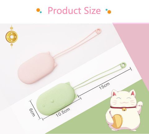 2 in 1 Hand Warmer Power Bank-Lucky Cat Pattern-aolanscctv
