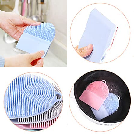 Multifunctional Scraper Silicone Brush-aolanscctv