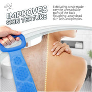 Silicone Bath Body Brush(Free Silicone Shampoo Brush )