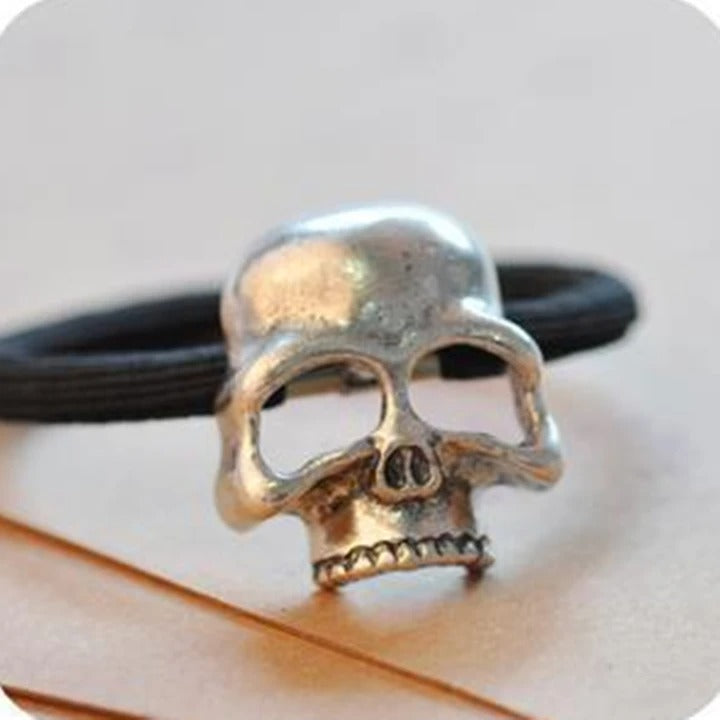 2020 Halloween Ornaments Skull Hairties