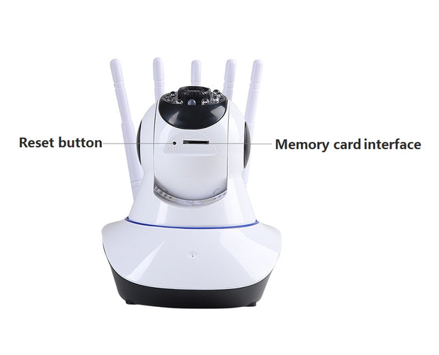 360° Full Coverage Wifi Camera