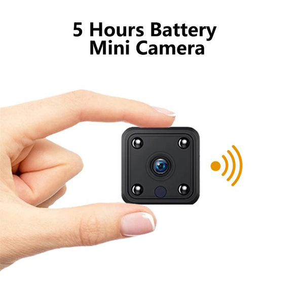 5 Hours Battery 1080P Wifi Mini Camera