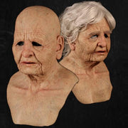 Another me - Delicate Old Woman - Natural Silicone Mask