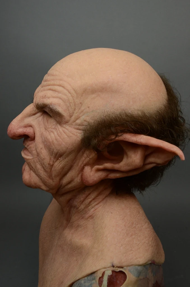 Another me-The Elder Men - Silicone Mask
