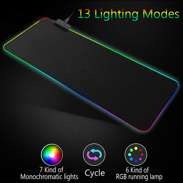 Glowing Led Gaming Mouse Pad