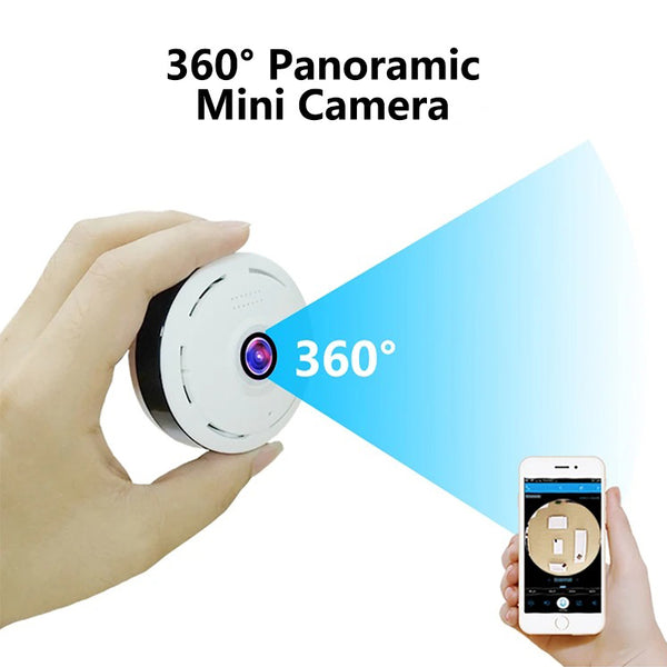 HD 360 Grad Panorama-Sicherheits-Mini-Kamera