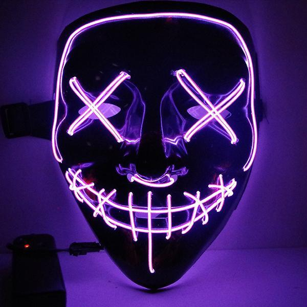 Halloween LED Light Up Mask
