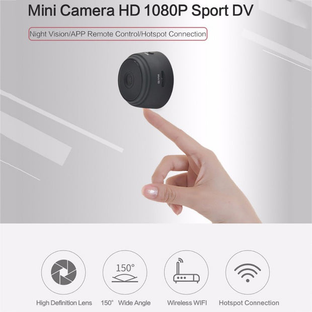 Home Security 1080P Night Vision Wifi Mini Camera