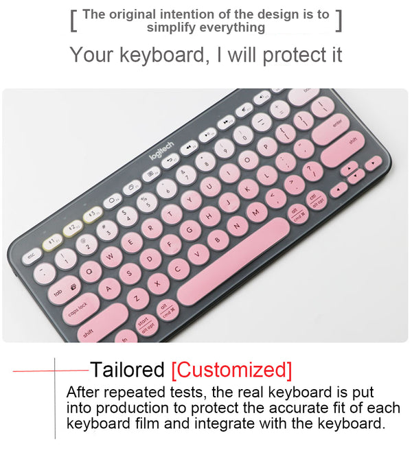 Keyboard Protector for Logitech K380 Keyboard