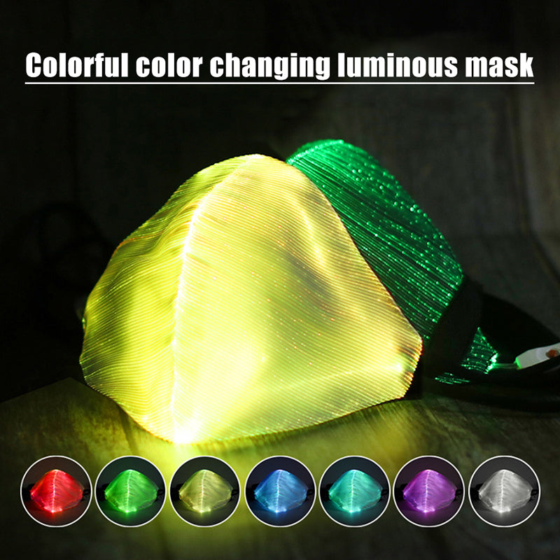 LED Light Up Masks Luminous Glowing Masks-aolanscctv