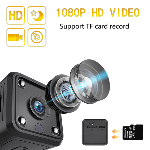 Mini Wifi 5 Hours Battery 1080P Camera