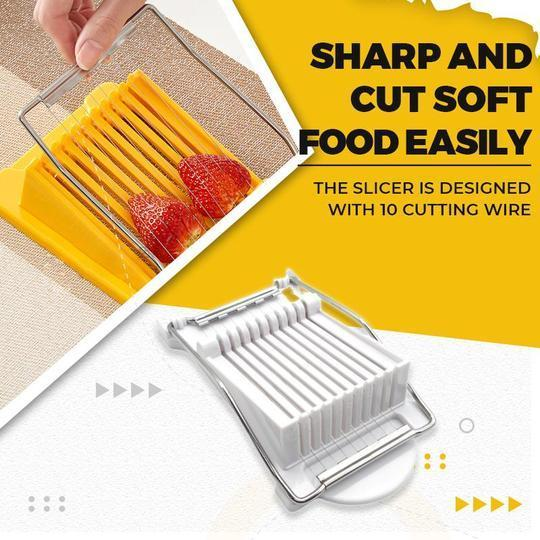 Multifunction Stainless Steel Slicer