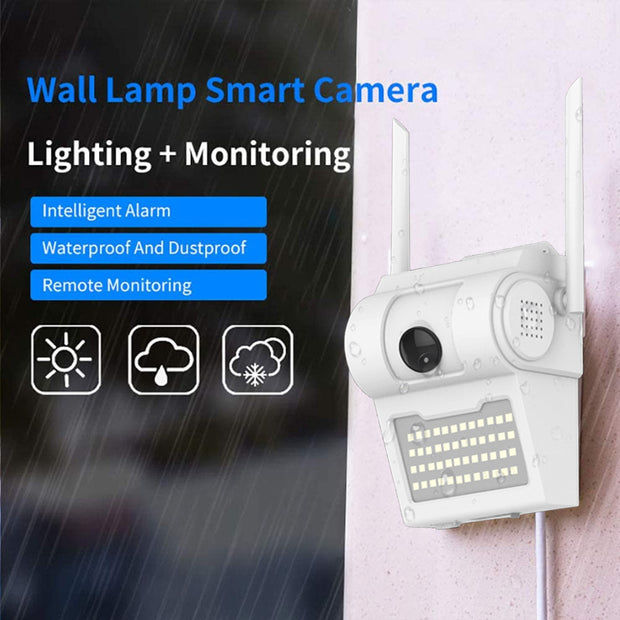 Motion Sensor Floodlight 1080P WiFi Camera