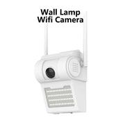 Outdoor Security Motion Sensor Floodlight 1080P Wall Lamp WiFi Camera