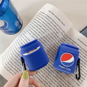 Pepsi Cola Airpods Case
