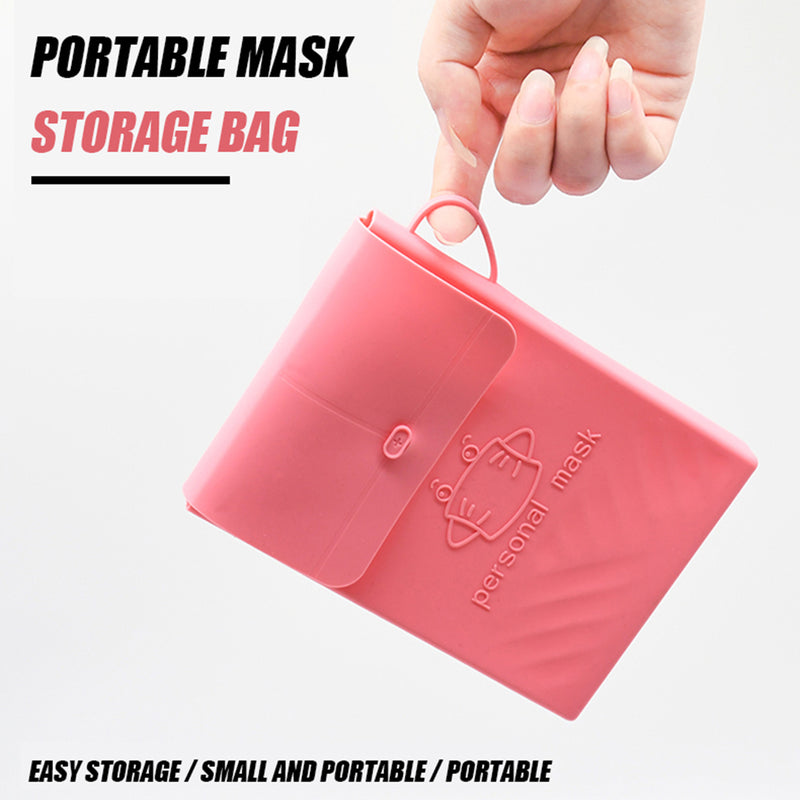 Portable Mask Storage Bag