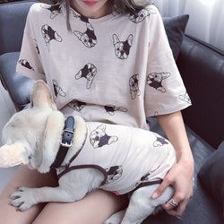 Puppy Pattern T-shirt