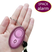 Self Defense Alarm 140dB Egg Shape Girl Women Security Protect Alert